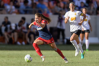 Houston, TX - Sunday Oct. 09, 2016: Estefania Banini during the National Women's Soccer League (NWSL) Championship match between the Washington Spirit and the Western New York Flash at BBVA Compass Stadium. The Western New York Flash win 3-2 on penalty kicks after playing to a 2-2 tie.