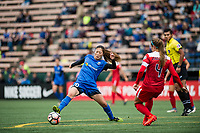 Seattle, WA - Saturday May 13, 2017: Rumi Utsugi during a regular season National Women's Soccer League (NWSL) match between the Seattle Reign FC and the Washington Spirit at Memorial Stadium.