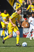 27 MARCH 2010:  Eddie Gaven of the Columbus Crew (12) during the Toronto FC at Columbus Crew MLS game in Columbus, Ohio on March 27, 2010.