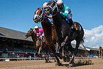 August 22, 2020: Nautilius #6, ridden by Javier Castellano, wins the 5th race on The FourStarDave day at Saratoga Race Course in Saratoga Springs, New York. Rob Simmons/CSM