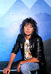 Various portrait sessions of guitarist, Ace Frehley