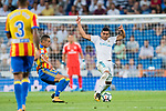 Carlos Henrique Casemiro of Real Madrid in action during their La Liga 2017-18 match between Real Madrid and Valencia CF at the Estadio Santiago Bernabeu on 27 August 2017 in Madrid, Spain. Photo by Diego Gonzalez / Power Sport Images
