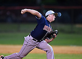 Lake Brantley Patriots pitcher Mike Ruff (23) during a game against the Lake Mary Rams on April 2, 2015 at Allen Tuttle Field in Lake Mary, Florida.  Lake Brantley defeated Lake Mary 10-5.  (Mike Janes Photography)