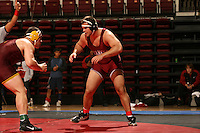 26 February 2006: Stanford's Jared Boyer during the Pac-10 Wrestling Championships at Maples Pavilion in Stanford, CA.