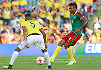 Colombia's Wilmar Barrios (l) and Cameroon's Adolphe Teikeu during international friendly match. June 13,2017.(ALTERPHOTOS/Acero) (NortePhoto.com) (NortePhoto.com)