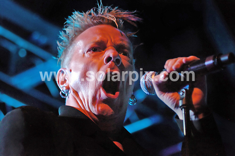 **ALL ROUND PICTURES FROM SOLARPIX.COM**.**WORLDWIDE SYNDICATION RIGHTS**.John Lydon aka Johnny Rotten performs live with Public Image Limited ( PiL ) at Liverpool Academy, Liverpool, UK. 24 July 2010.This pic: John Lydon..JOB REF: 11762 SGD     DATE: 24_07_2010.**MUST CREDIT SOLARPIX.COM OR DOUBLE FEE WILL BE CHARGED**.**MUST NOTIFY SOLARPIX OF ONLINE USAGE**.**CALL US ON: +34 952 811 768 or LOW RATE FROM UK 0844 617 7637**