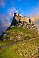 16th Century castle of Holy Island, Lindisfarne, Northumberland, England