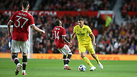 Vitaly Janelt of Brentford in action during Manchester United vs Brentford, Friendly Match Football at Old Trafford on 28th July 2021