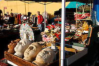 Flea Market; West 39th Street at Ninth Avenue; 406pm Nov 2005