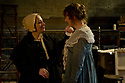 """© Jane Hobson.  13/01/2011. Arcola Theatre reopens in its new venue with """"The Painter"""", by Rebecca Lenkiewicz. Amanda Boxer (left) as Mary Marshall Turner and Niamh Cusack (right) as Sarah Danby. Picture credit should read: Jane Hobson"""