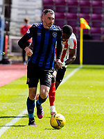 17th July 2021; Tynecastle Park, Edinburgh, Scotland;Pre Season Friendly Football, Heart of Midlothian versus Sunderland; Michael Smith of Hearts
