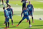 Spain's Isco Alarcon, Alberto Moreno, Vitolo and Saul Niguez during training session. November 8,2017.(ALTERPHOTOS/Acero)