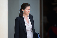 French Minister for Solidarity and Health Agnes Buzyn leaves the Elysee presidential palace following the weekly cabinet meeting on Wednesday, 28 June 2017 in Paris # CONSEIL DES MINISTRES DU 28/06/2017