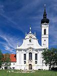 Germany, Bavaria, Upper Bavaria, Ammer Lake, Diessen: baroque Marienmuenster