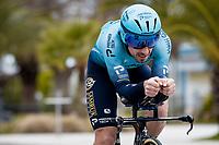 Fabio Felline (ITA/Astana - Premier Tech)<br /> <br /> Final stage 7 (ITT) from San Benedetto del Tronto to San Benedetto del Tronto (10.1km)<br /> <br /> 56th Tirreno-Adriatico 2021 (2.UWT) <br /> <br /> ©kramon