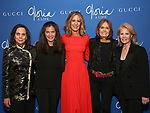 """Emily Mann, Diane Paulus, Christine Lahti, Gloria Steinem and Daryl Roth attend the Opening Night Performance After Party for """"Gloria: A Life"""" on October 18, 2018 at the Gramercy Park Hotel in New York City."""