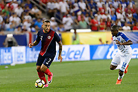 Harrison, NJ - Friday July 07, 2017: David Ramírez during a 2017 CONCACAF Gold Cup Group A match between the men's national teams of Honduras (HON) vs Costa Rica (CRC) at Red Bull Arena.