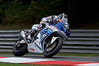 Richard Cooper (47) of Bennetts Suzuki during 2nd practice in the MCE BRITISH SUPERBIKE Championships 2017 at Brands Hatch, Longfield, England on 13 October 2017. Photo by Alan  Stanford / PRiME Media Images.