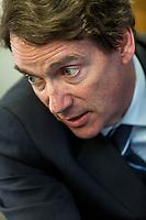 le candidat pequiste Pierre-Karl Peladeau, mars 2014<br /> <br />  <br /> PHOTO : <br /> - Agence Quebec presse