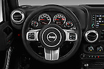 Car pictures of steering wheel view of a 2017 JEEP Wrangler-Unlimited Rubicon-Hard-Rock 5 Door SUV Steering Wheel