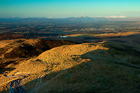 The Southern Highlands from Dumyat, the Ochil Hills, Stirlingshire