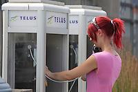 Montreal quebec CANADA - july 02, 2012 - MODEL RELEASED ILLUSTRATION -