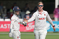 Simon Harmer of Essex celebrates taking the wicket of Zafar Gohar during Essex CCC vs Gloucestershire CCC, LV Insurance County Championship Division 2 Cricket at The Cloudfm County Ground on 5th September 2021