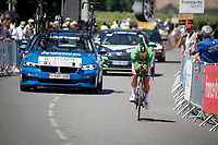 Green Jersey / points leader Mark Cavendish (GBR/Deceuninck - Quick Step)<br /> <br /> Stage 20 (ITT) from Libourne to Saint-Émilion (30.8km)<br /> 108th Tour de France 2021 (2.UWT)<br /> <br /> ©kramon
