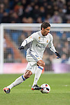 Raphael Varane of Real Madrid in action during their Copa del Rey 2016-17 Quarter-final match between Real Madrid and Celta de Vigo at the Santiago Bernabéu Stadium on 18 January 2017 in Madrid, Spain. Photo by Diego Gonzalez Souto / Power Sport Images