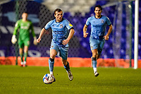17th February 2021; St Andrews Stadium, Coventry, West Midlands, England; English Football League Championship Football, Coventry City v Norwich City; Jamie Allen of Coventry City brings the ball out of midfield