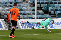 Jacob Mellis scores Gillingham's second goal with a shot from outside the penalty area during Gillingham vs Oxford United, Sky Bet EFL League 1 Football at the MEMS Priestfield Stadium on 10th October 2020