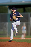 Carter Fink (17) during the WWBA World Championship at Lee County Player Development Complex on October 9, 2020 in Fort Myers, Florida.  Carter Fink, a resident of Macon, Georgia who attends Tattnall Square Academy.  (Mike Janes/Four Seam Images)