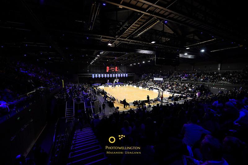 NBL match between the Wellington Saints and the Auckland Huskies at TSB Bank Arena, Wellington, New Zealand on Friday 28 May 2021.<br /> Photo by Masanori Udagawa. <br /> www.photowellington.photoshelter.com