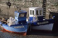 Europe/France/Pays de la Loire/44/Loire-Atlantique/Pornic: Bateau équipé pour la pêche aux civelles sur le port