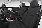 Front seat view of a 2015 Hyundai Elantra Sport 4 Door Sedan Front Seat car photos
