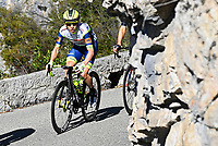 14th March 2021, Levens, France;  MEINTJES Louis (RSA) of Intermarche - Wanty - Gobert Materiaux during stage 8 of the 79th edition of the 2021 Paris - Nice cycling race, a stage of 92,7 kms between Plan-du-Var and Levens on March 14, 2021 in Levens, France