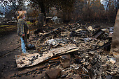 Gates, Oregon<br /> September 18, 2020<br /> <br /> Wildfires ravaged the town of Gates in central Oregon. Winds of 50 to 60 miles an hour moved the fire quickly down the river bed.