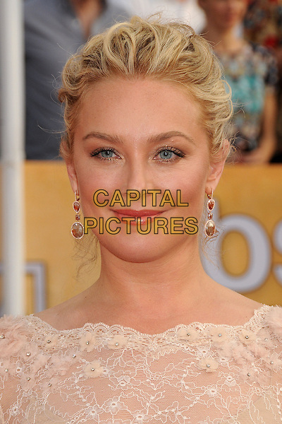 18 January 2014 - Los Angeles, California - Elisabeth Rohm. 20th Annual Screen Actors Guild Awards - Arrivals held at The Shrine Auditorium. Photo Credit: Byron Purvis/AdMedia<br /> CAP/ADM/BP<br /> ©Byron Purvis/AdMedia/Capital Pictures