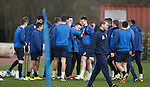 Barrie McKay getting it tight from the whole squad