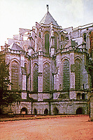 Chartres Cathedral in Chartres, France. UNESCO World Heritage Site : 1979. Gothic style