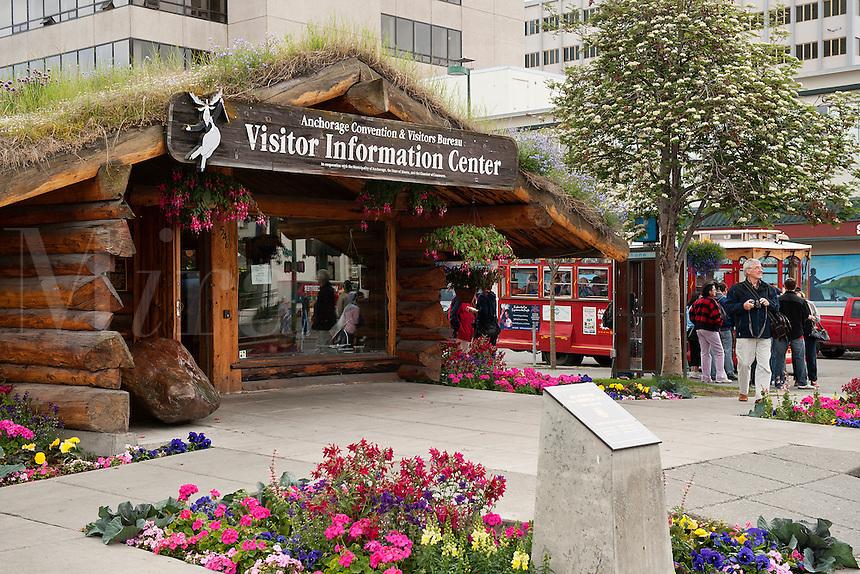 Visitors Center, Anchorage, Alaska, USA