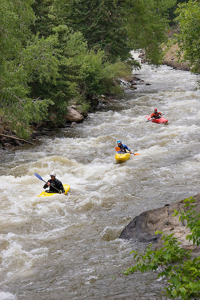 Kayakers on Clear Creek, Golden,  Colorado, USA John offers private photo tours of Denver, Boulder and Rocky Mountain National Park. .  John offers private photo tours in Denver, Boulder and throughout Colorado. Year-round. .  John offers private photo tours in Denver, Boulder and throughout Colorado. Year-round.
