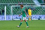 19.09.2020, wohninvest Weserstadion, Bremen, GER,  SV Werder Bremen vs Hertha BSC Berlin, <br /> <br /> <br />  im Bild<br /> <br /> enttäuscht / enttaeuscht / traurig / Niederlage / dissapointed<br /> <br /> Joshua Sargent (Werder Bremen #19)<br /> Foto © nordphoto / Kokenge<br /> <br /> DFL regulations prohibit any use of photographs as image sequences and/or quasi-video.