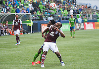 August 30, 2014 - Seattle, Washington: Seattle Sounders FC defeated the Colorado Rapids 1-0 in MLS action at CenturyLink Field.