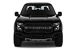 Car photography straight front view of a 2018 Ford F-150 Raptor 4 Door Pick Up