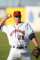 April 19 2009: Eric Taylor of the Lancaster JetHawks before game against the High Desert Mavericks at Clear Channel Stadium in Lancaster,CA.  Photo by Larry Goren/Four Seam Images