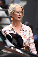 NEW YORK, NY - July 20: Cynthia Nixon on the set of the HBOMax Sex and the City reboot series And Just Like That on July 20, 2021 in New York City. Credit: RW/MediaPunch