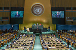 General Assembly Seventy-fourth session, 7th plenary meeting<br /> <br /> <br /> His Excellency Igor Dodon, President, Republic of Moldova