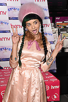 """Melanie Martinez<br /> signs copies of her new CD """"Cry Baby"""" at HMV in Westfield, Shepherds Bush, London<br /> <br /> <br /> ©Ash Knotek  D3114 06/05/2016"""