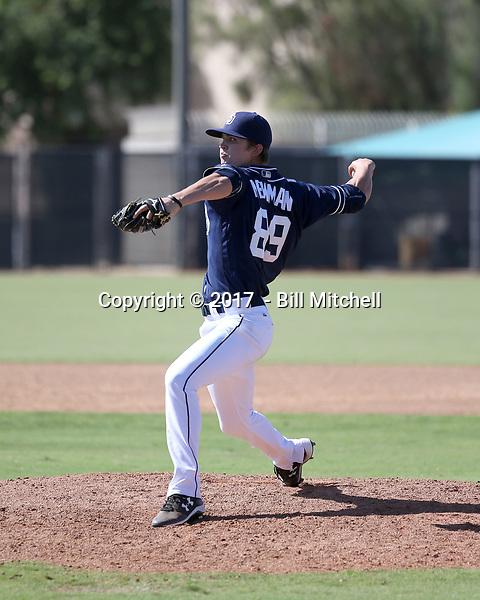 Chandler Newman - 2017 AIL Padres (Bill Mitchell)